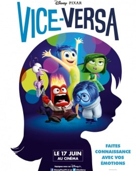 Vice Versa (Inside Out), le film de Disney Pixar !