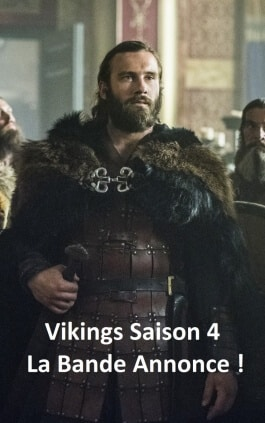 Vikings saison 4 : La bande annonce !!