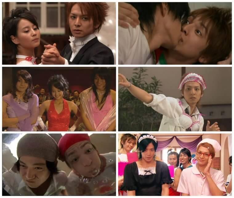 HANAZAKARI NO KIMITACHI E cast