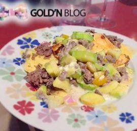 Lasagne courgette chèvre poivron boeuf, la recette facile