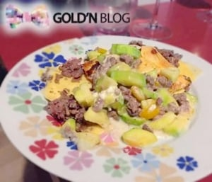 Lasagne boeuf courgette poivron chèvre, la recette facile