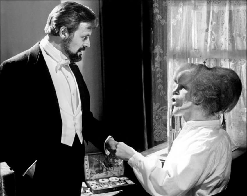 Merrick et Treves, Elephant Man : Le film de David Lynch