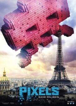 pixels film affiche poster