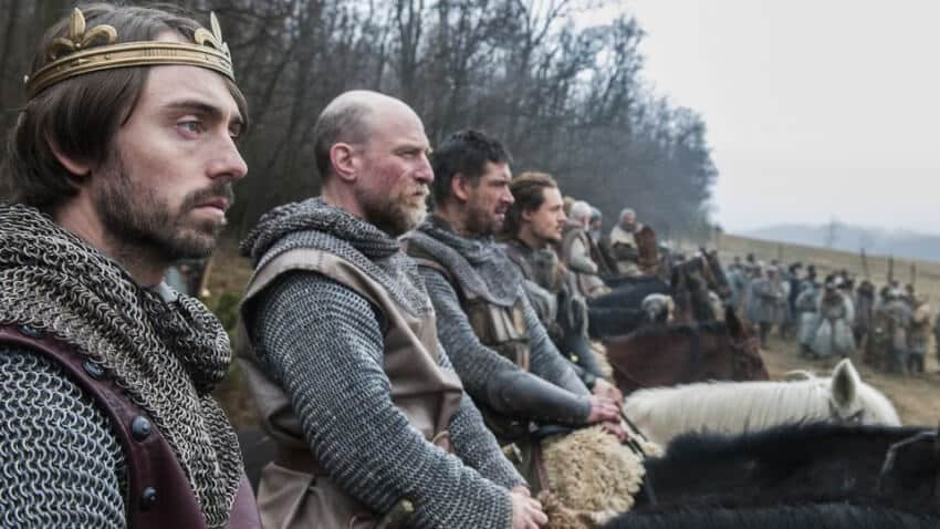 roi alfred the last kingdom avis serie