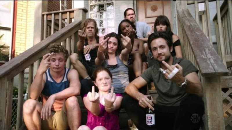 la-famille-gallagher shameless