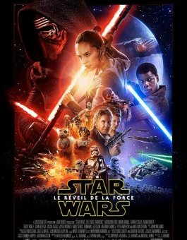 affiche star wars reveil de la force