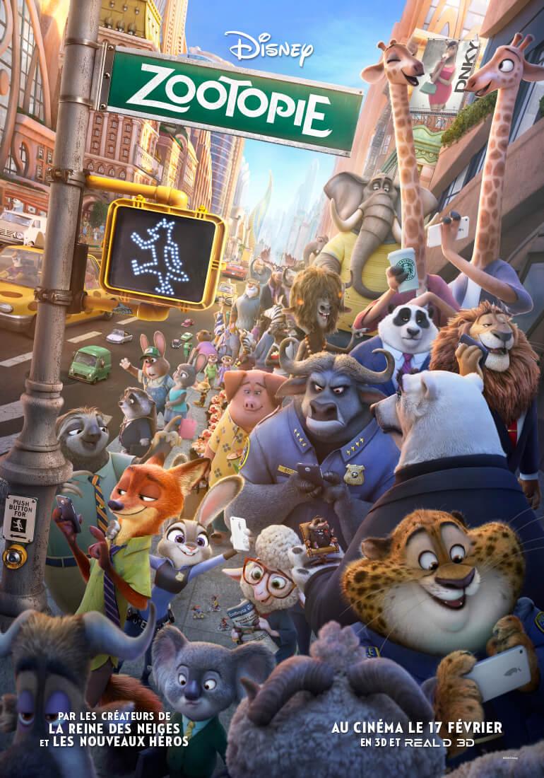 Zootopie : Le film d'animation Disney