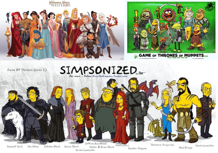Adaptation de l'univers de Game of Thrones