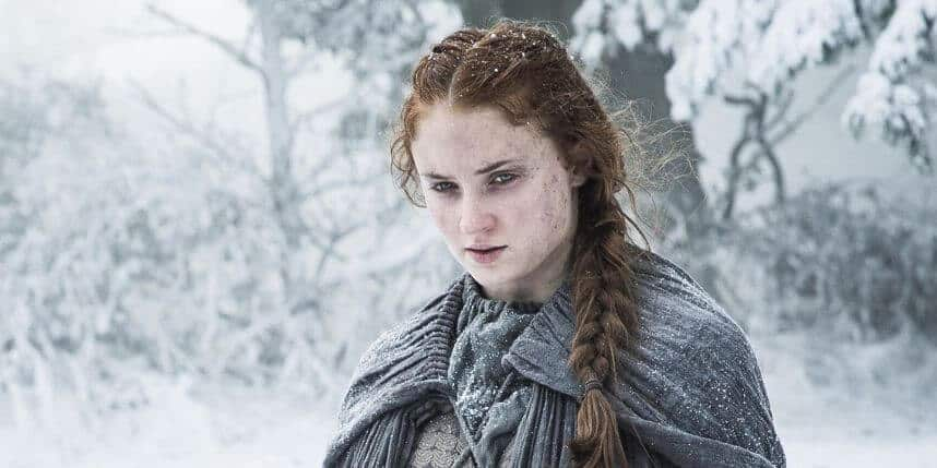 Sansa Stark Game of Thrones Saison 6