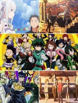 Saison Anime Printemps 2016 – Les tops et les flops !