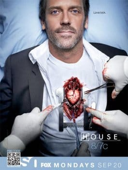 dr house affiche serie poster