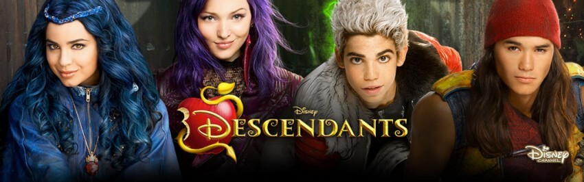 Descendants banniere disney film