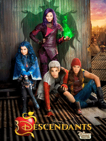 descendants affiche film disney poster