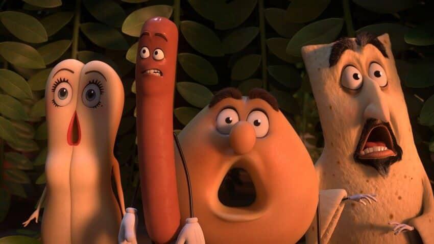 Les personnages de Sausage Party