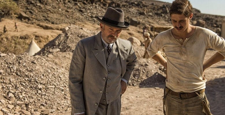 tutankhamun serie itv 2016 sam neill and max irons
