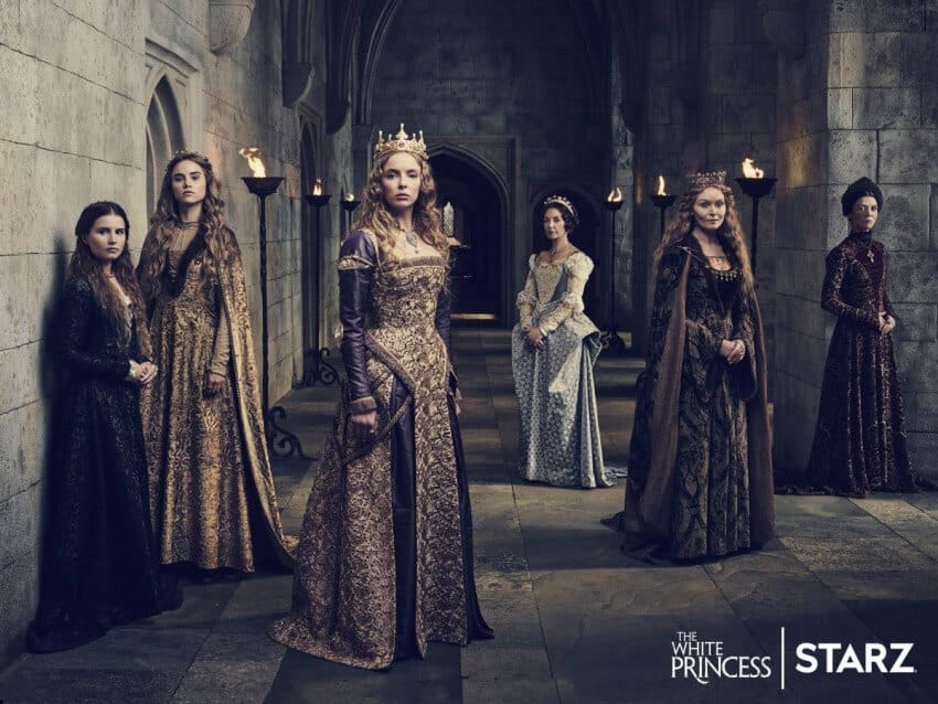 the white princess serie starz