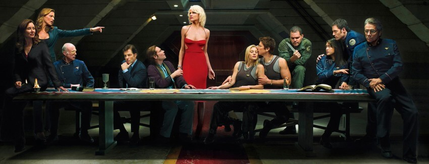 battlestar galactica serie banner meilleure série science fiction