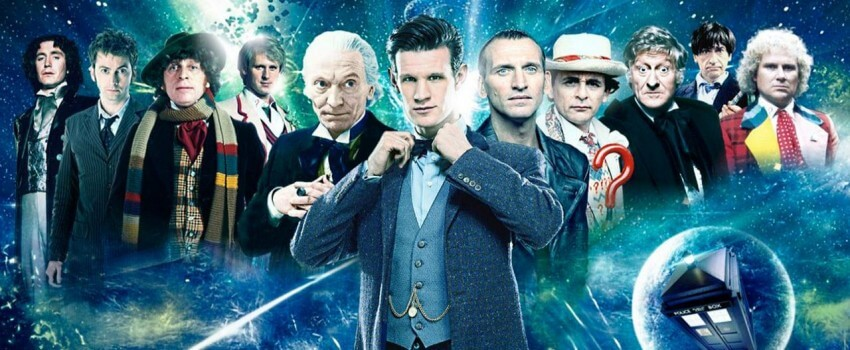 dr who banner serie