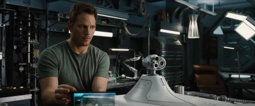 passengers chris pratt