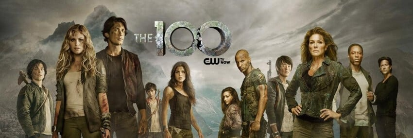 the 100 serie banner serie science fiction top