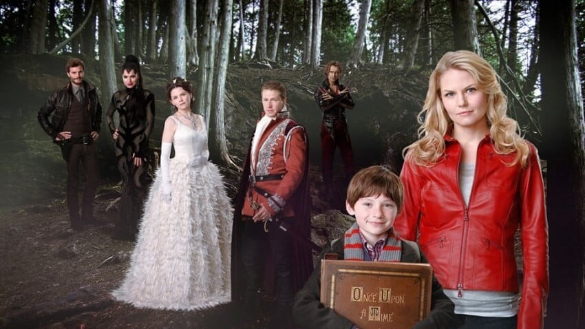 once upon a time serie personnages