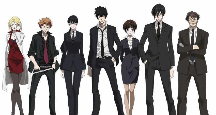 psycho pass division 1 perosnnages