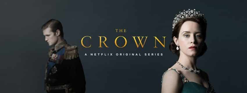 the crown serie netflix banniere
