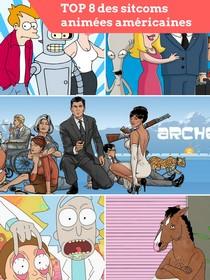 Top 8 des séries animées américaines
