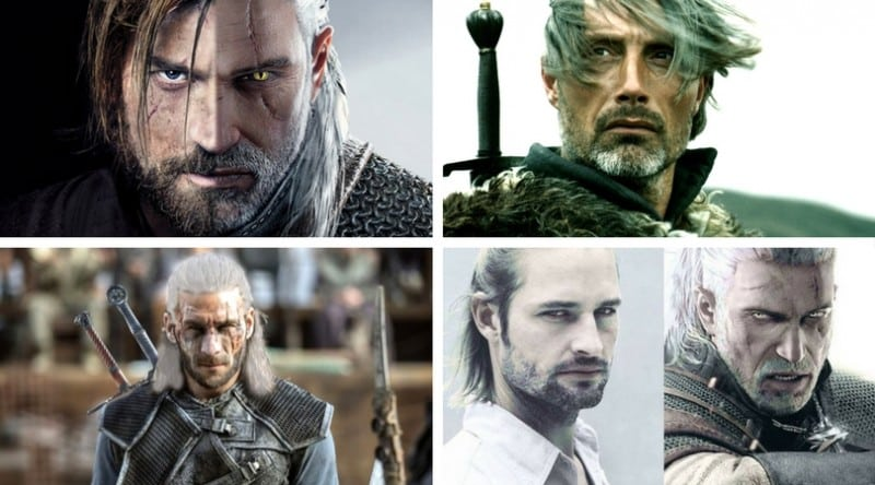 role geralt actor acteur the witcher