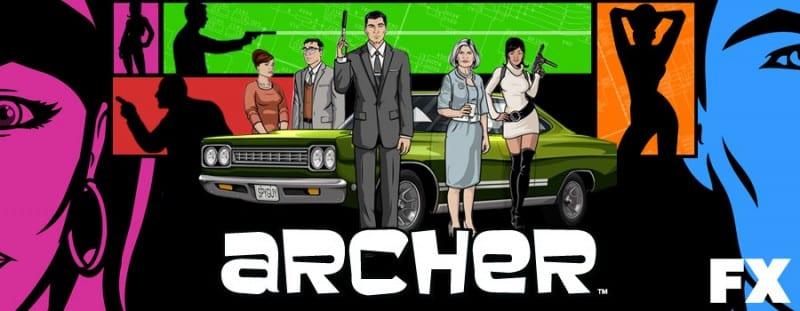 archer serie anime