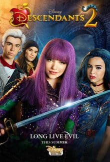 descendants 2 affiche poster
