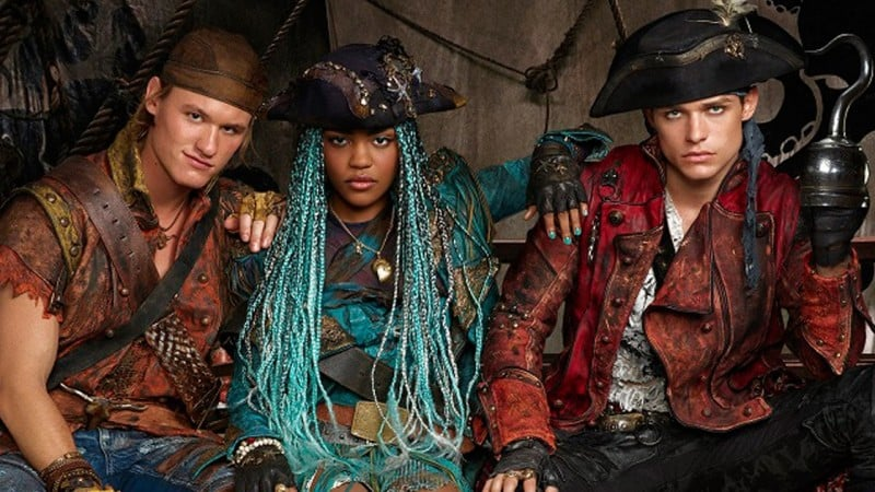 descendants 2 uma harry gil