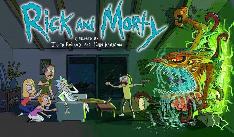 Série comme Rick et Morty