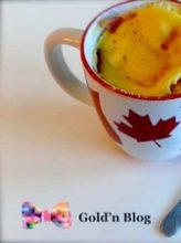 Mug Cake Salé Jambon Fromage