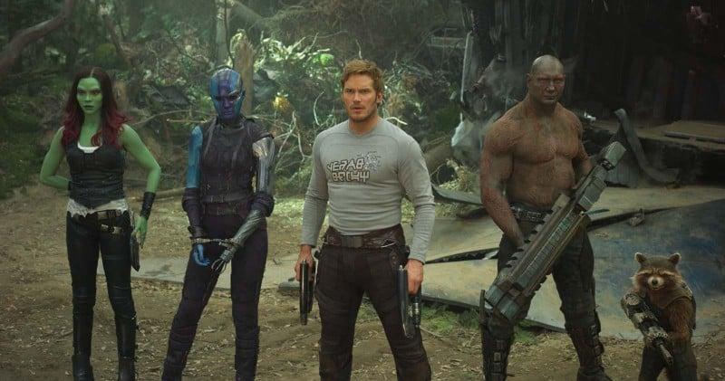 gardiens de la galaxie 2 personnages
