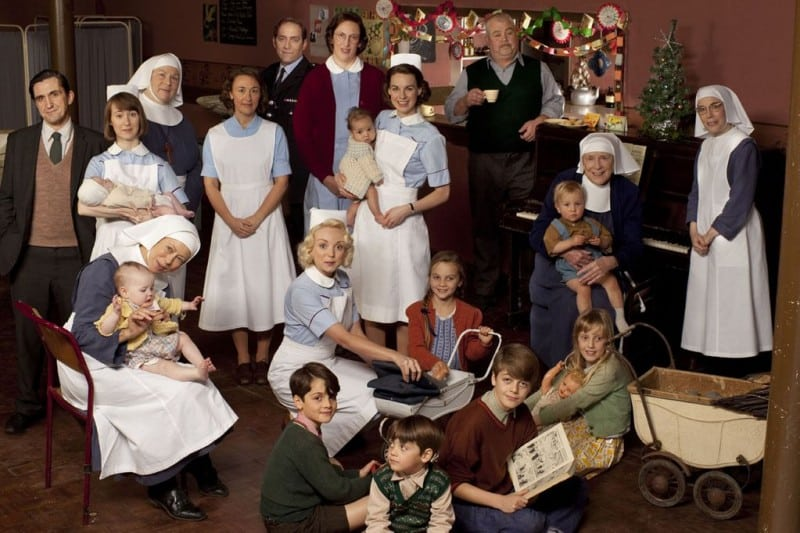 call the midwife serie personnages