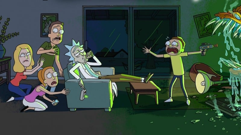 rick et morty adult swim
