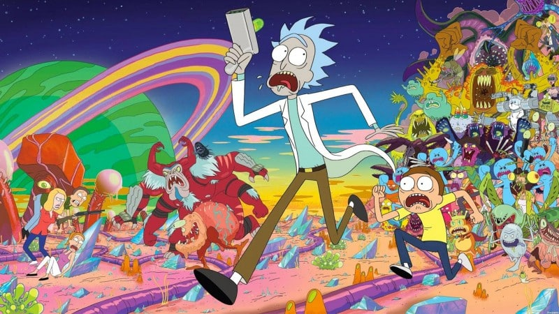 rick et morty serie anime