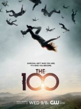 the 100 affiche poster serie sf