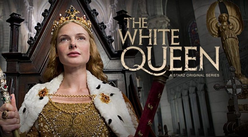 the white queen banniere
