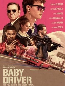 baby driver poster affiche