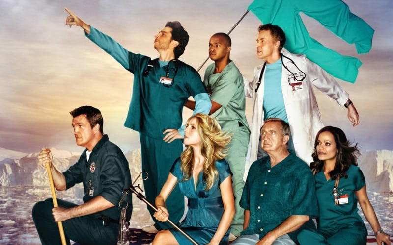 Scrubs, la série de comédie médicale