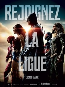 justice league affiche film dc comics