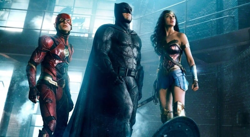 justice league batman flash wonder woman
