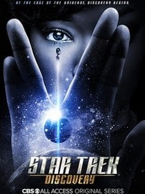 star trek discovery serie poster affiche