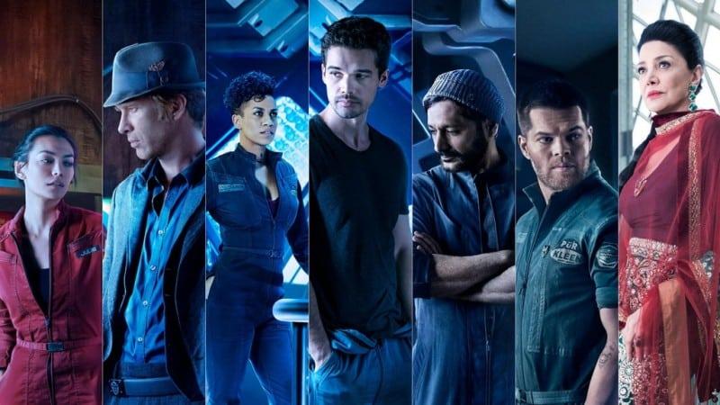 the expanse cast acteurs personnages