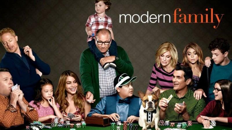 Modern Family, la série de comédie américaine autour de la famille