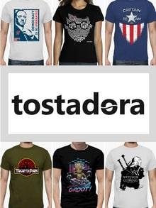 Tostadora, des T-shirts geek personnalisables mais pas que !