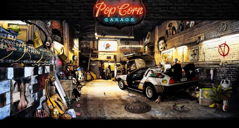 Popcorn garage, le retour du célèbre jeu !