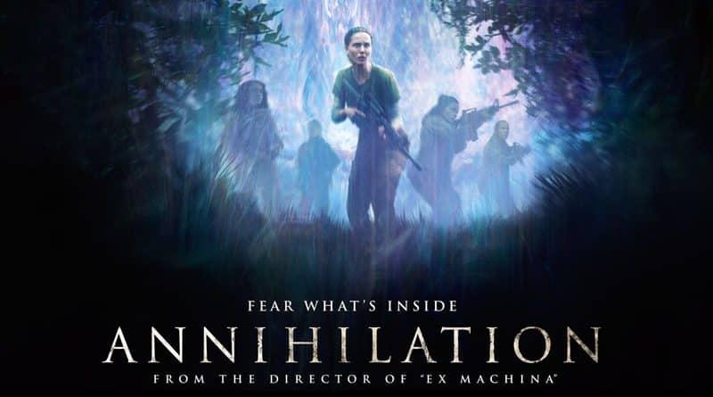 Annihilation bannière officielle film netflix